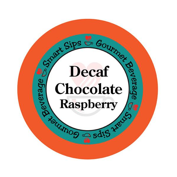 Decaf Chocolate Raspberry Flavored Coffee, 24 Count for Keurig Kcup Brewers
