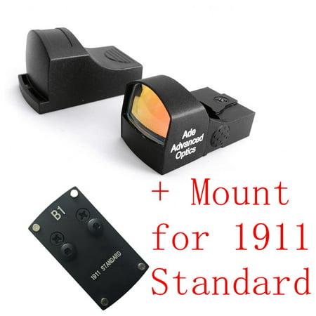 Ade Optics Compact MINI Red Dot Reflex Sight Pistol for Colt 1911