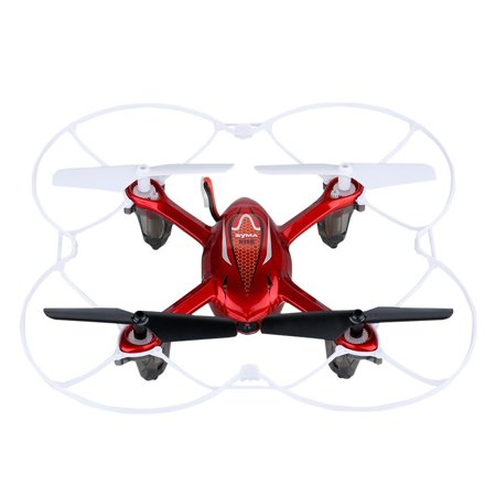 Syma X11c Rc Quadcopter With Camera And Led Lights   Red