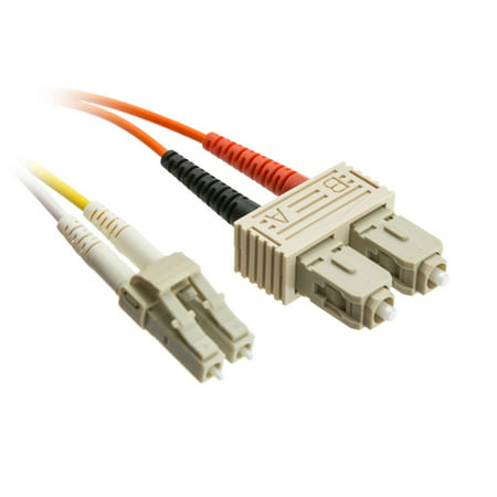 6' Multimode Fiber - ACL 19.68 Feet (6 Meter) LC to SC Fiber Optic Cable, Multimode, Duplex, 50/125, 1 Pack