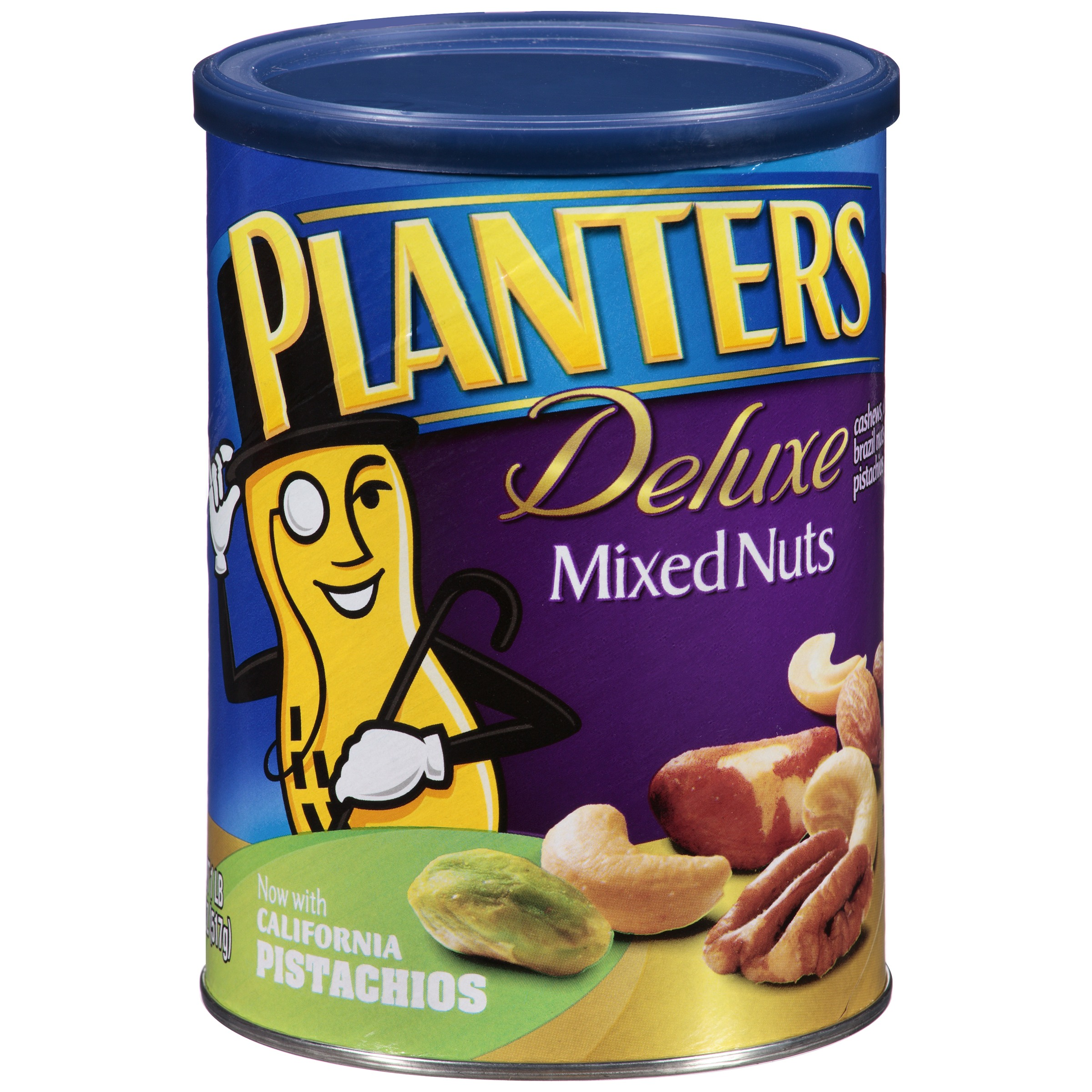 Planters Deluxe Mixed Nuts 18.25 oz. Canister