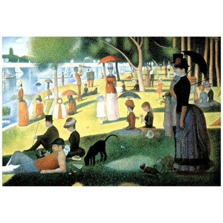 Georges Seurat (A Sunday Afternoon on the Island of La Grande Jatte) (George Seurat A Sunday On La Grande Jatte)