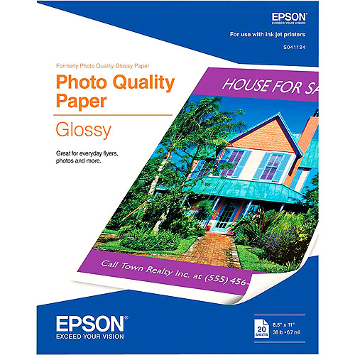 Photo Quality Glossy Paper