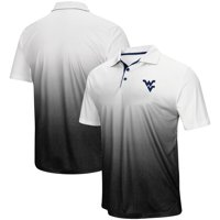West Virginia Mountaineers Colosseum Magic Team Logo Polo - Heathered Gray