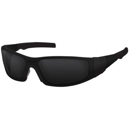 Liquid Eyewear TFlex MATTE BLACK / HELLFIRE TRANSITION Lens Aluminum (Transition Eyewear)