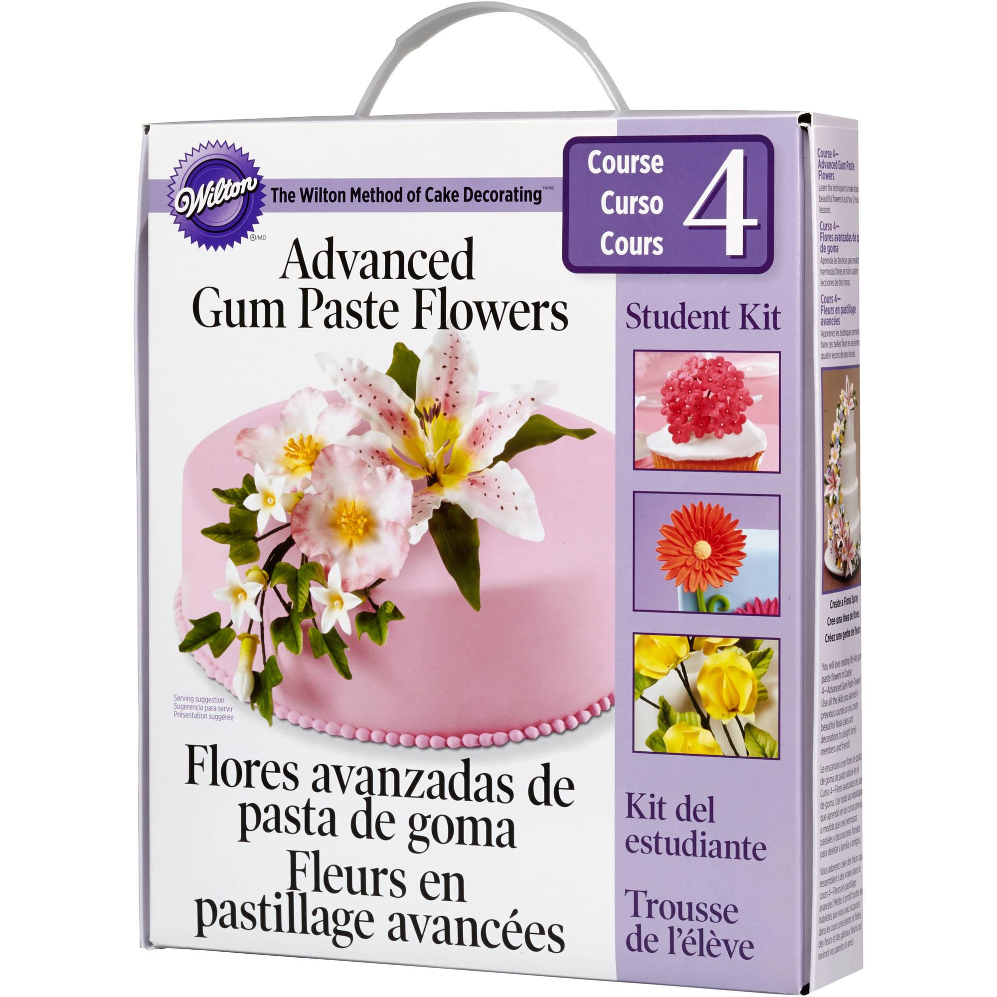 Wilton Advanced Gum Paste Flowers Student Decorating Kit 2116-115