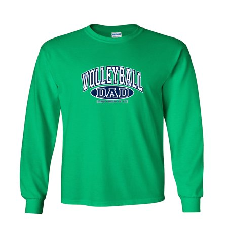 03f76a5d Fair Game - Volleyball Dad and Proud of It Long Sleeve T-Shirt - Walmart.com