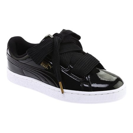 official photos e39cd 23af0 Women's PUMA Basket Heart Patent Sneaker