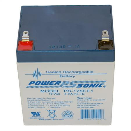 12V 5Ah UPS Battery replaces 4.5ah BB Battery SH4.5-12, SH -