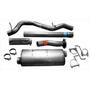 "07-10 Gm Silverado/Sierra 2500/3500 6.0L and 8.1L 4"" Ss Exhaust System Replacement Auto Part, Easy to Install"