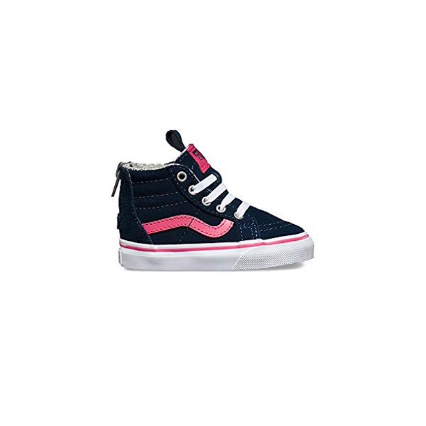 Vans Toddlers SK-8 Hi MTE Navy/Pink Fashion Sneakers