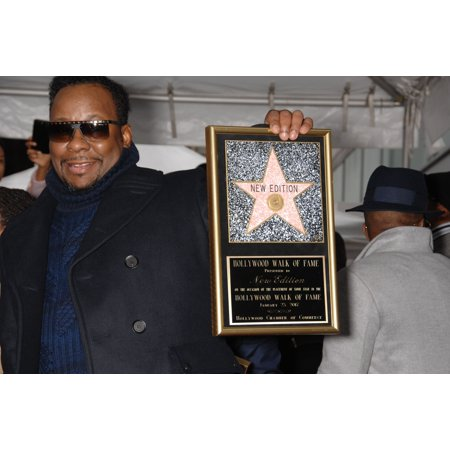Bobby Brown At The Induction Ceremony For Star On The Hollywood Walk Of Fame For New Edition Hollywood Boulevard Los Angeles Ca January 23 2017 Photo By Michael GermanaEverett Collection Celebrity (Hollywood Stars Halloween 2017)