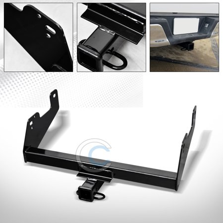 RL Concepts Class 3 Trailer Hitch Receiver Rear Bumper Tow Kit 2