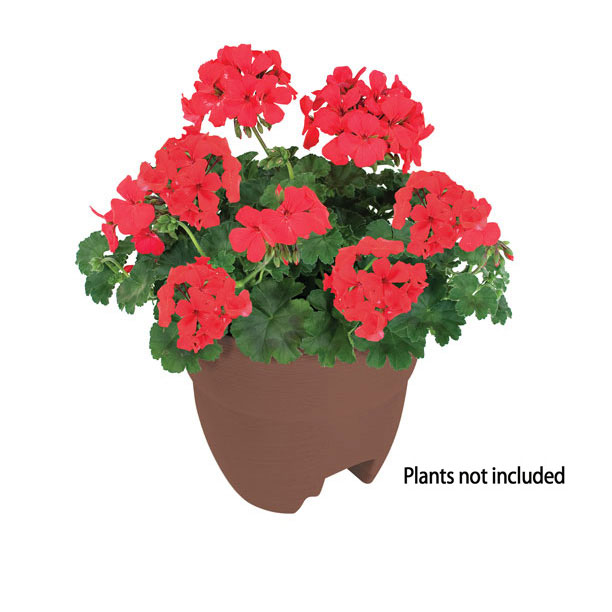 Bloomers Post Planter – Both Permanent and Temporary Installation Options – Garden in Tight Spaces – Terracotta
