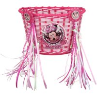 Bell Disney Junior Minnie Mouse Bike Basket and Streamer Combo