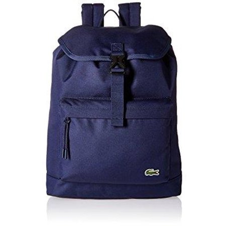 59b7883e469 Lacoste - men's flap backpack, peacoat - Walmart.com