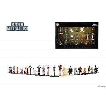 Nano Metalfigs 30122 Disney Nightmare Before Christmas Wave 1 Metals Die-Cast Collectible Figures, 1.65