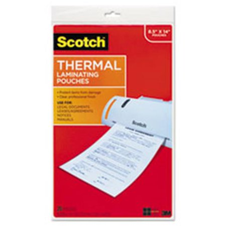 3m Mmmtp385520 3 Ml Scotch Laminating Pouches 44 Clear 11 X 17 Walmart Canada