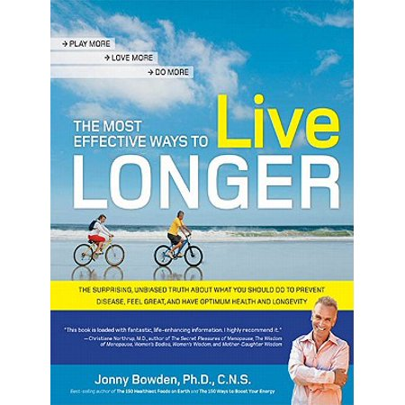 The Most Effective Ways to Live Longer - eBook
