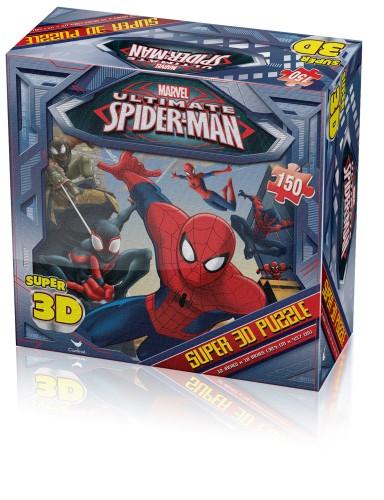 Unbranded Ult Spiderman Super 3d Puzzle