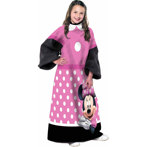 "Disney Minnie Mouse Dot 48"" x 48"" Youth Comfy Throw"