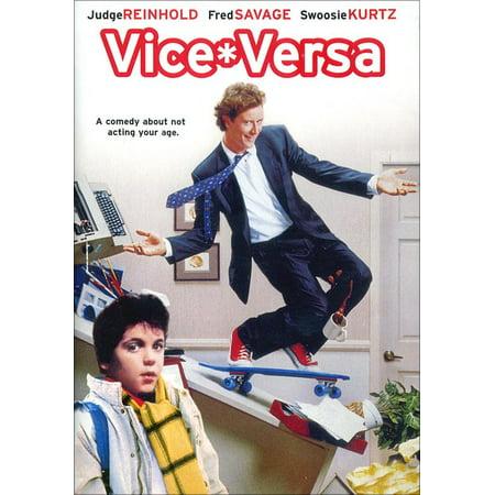 Vice Versa DVD Judge Reinhold, Fred Savage, Swoosie