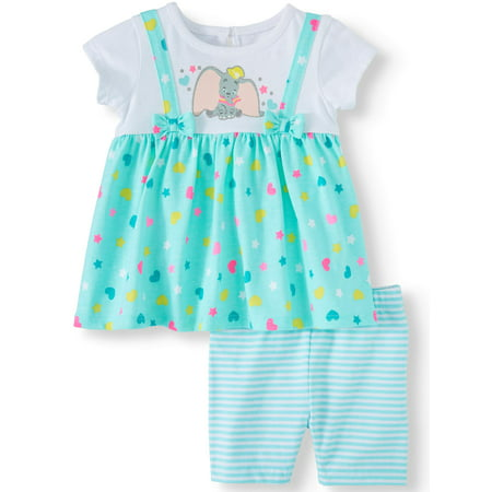 Peace Girl (Dumbo Jumper and Short Set, 2- Piece Set (Baby Girl))