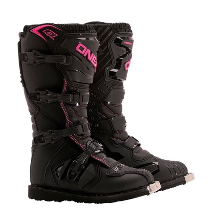 Oneal 2017 Womens Rider Offroad Motocross Boots Black - Pink/Black - 0324 ()