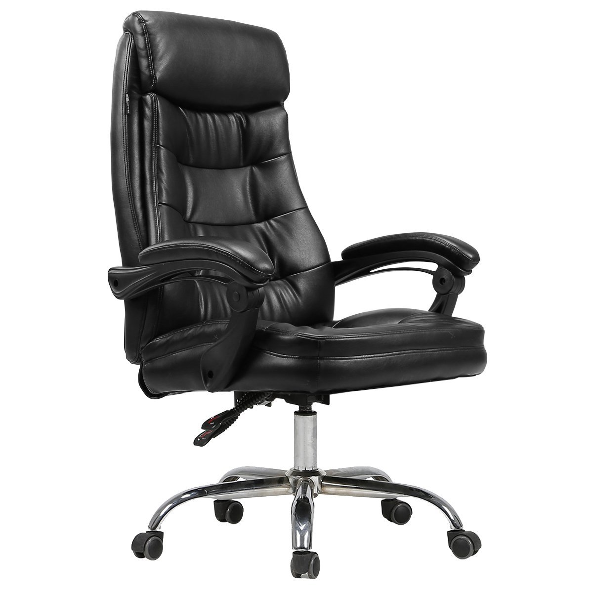 Hbada Ergonomic Office Chair, High Back Recliner, Desk Chair, PU Leather  Managerial