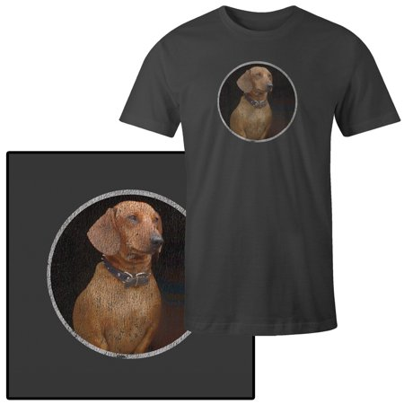Men's Dachshund Dog Puppy T-Shirt (Dachshund Puppy Clothes)