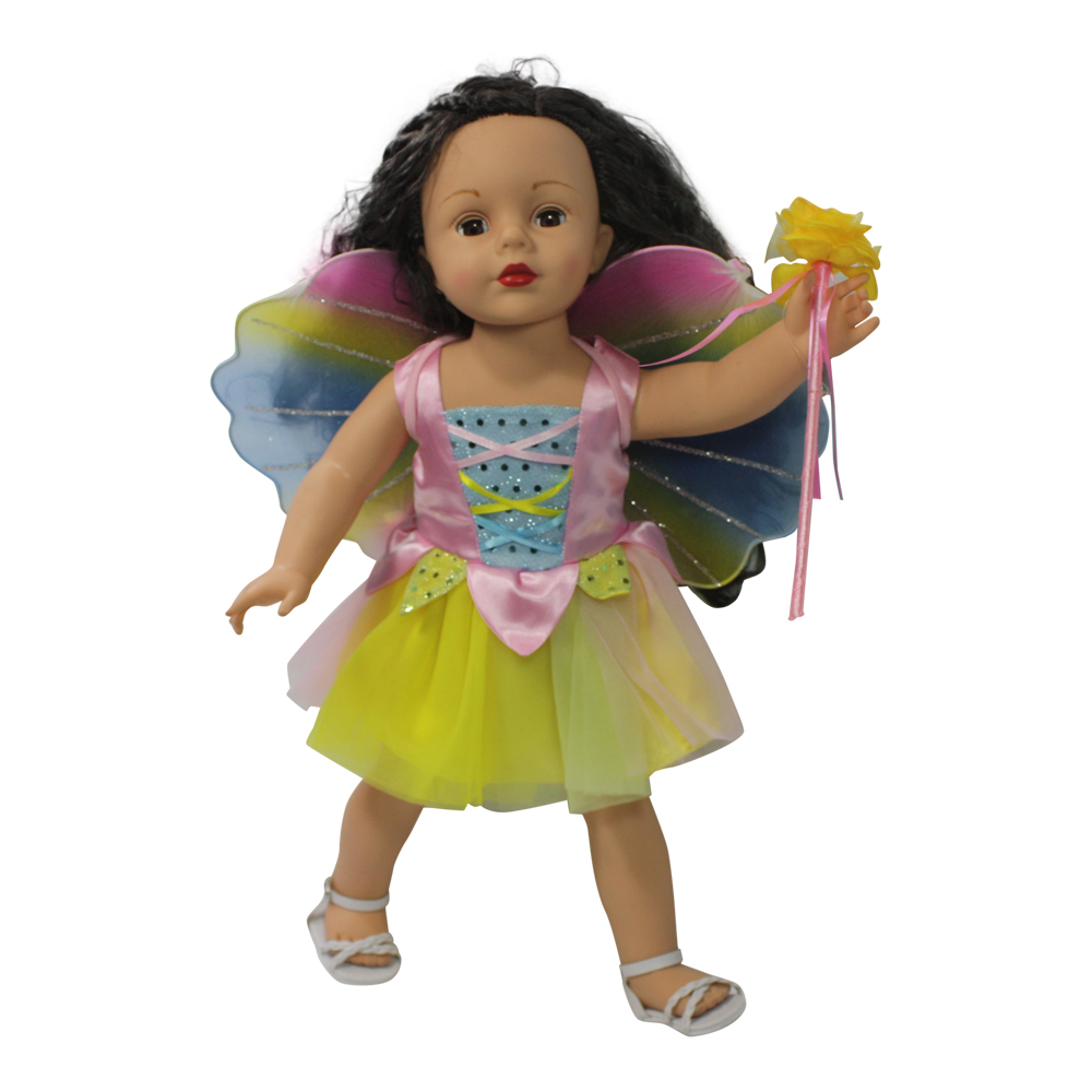Arianna Fairy Costume Fits Most 18 inch Dolls