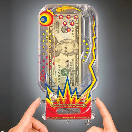Pinball Machine Cash Holder (used pinball machines for sale)