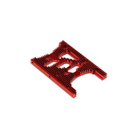 Savage Motor Plate - Integy RC Toy Model Hop-ups T6978RED HD Engine Heatsink Plate for HPI Savage XL & X 4.6 RTR