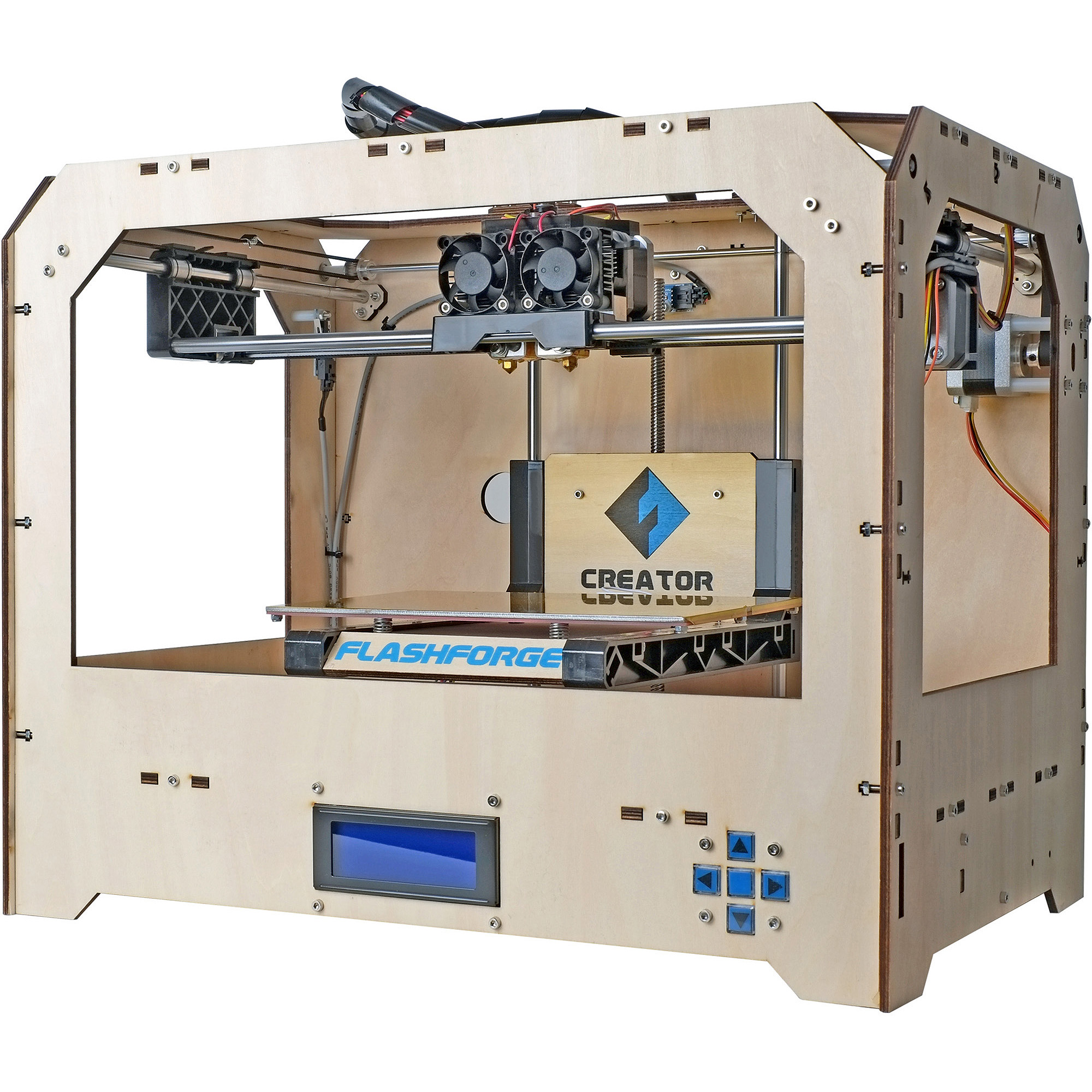Flashforge Creator Wood Case 3D Printer