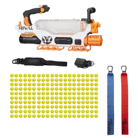 nerf rival prometheus mxviii 20k with rechargeable battery and 200