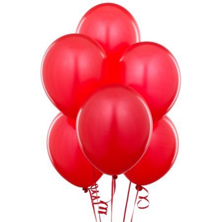 12 Red Latex Birthday Graduation Party 11 Decoration Balloons