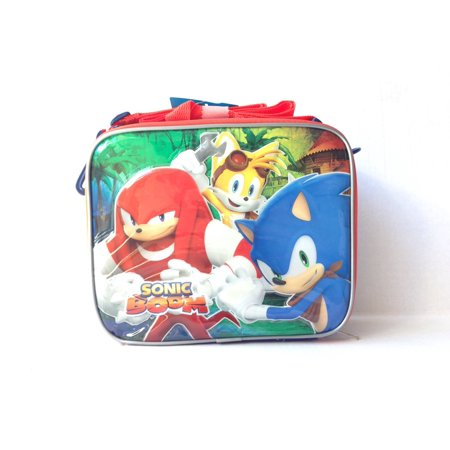 Lunch Bag - Sonic the Hedgehog - Group Knuckles Tails New 116440 (Hedgehog Knuckles Tails)