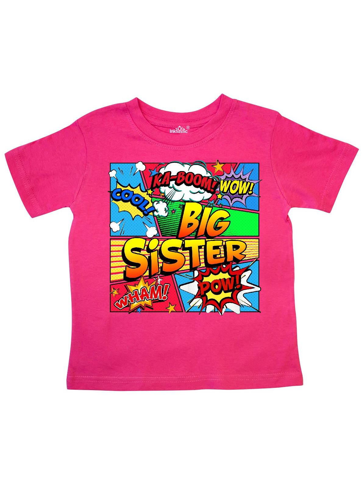 Big Sister Comic Book Toddler T-Shirt