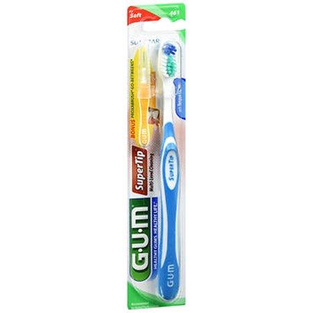 GUM Super Tip Toothbrush Soft Compact - 1 each