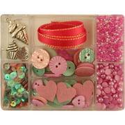 28 Lilac Lane Embellishment KitHello Cupcake
