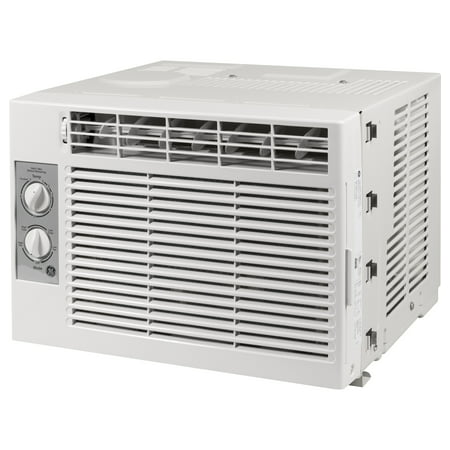 Best GE 5000 BTU Mechanical Air Conditioner, 115V, Gray, AET05LX deal