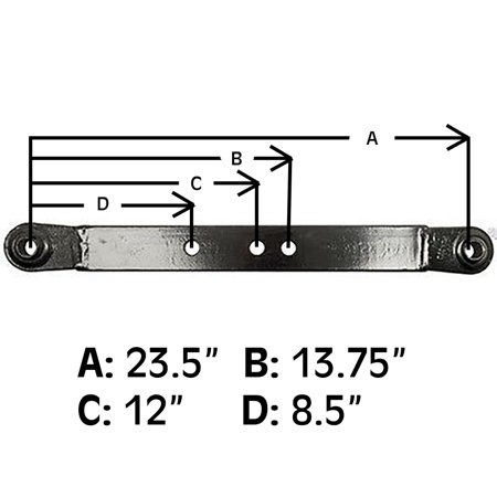 159326 New 3 Point Hitch Tractor 23 1/2