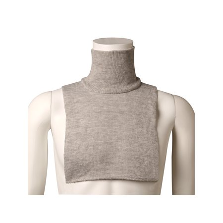 Unisex Turtleneck Dickies - 4 Pack Mock Turtlenecks - (Shirred Mock Neck Top)