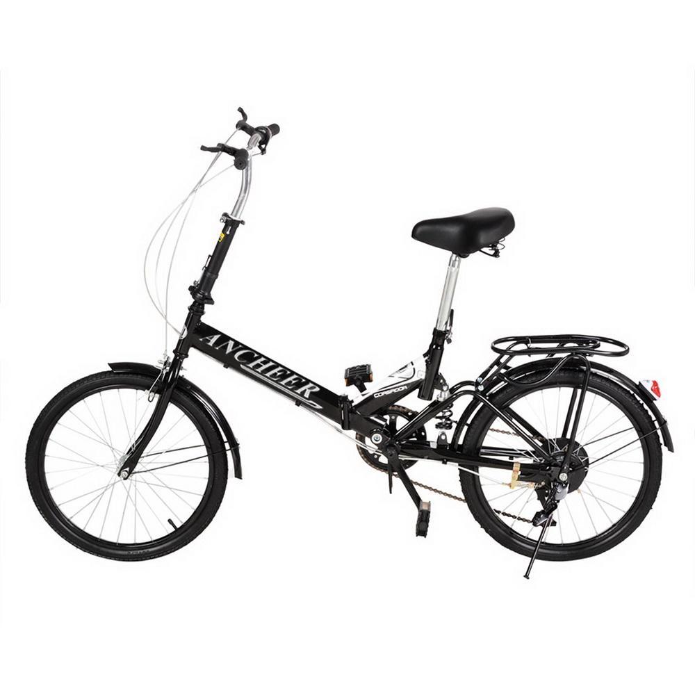 Hifashion 20'' 6 Speed Folding Bike Foldable Bicycle Stor...