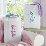Personalized She Sparkles Tote Bag - Available in 4 Colors