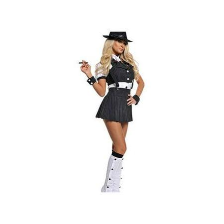 Underwraps Costumes Miss Mob Costume 29283UW - Mob Wife Costumes
