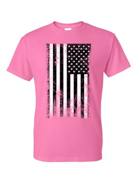 42426059a8 Product Image American Flag Distressed Black & White Mens Short Sleeve T -Shirt