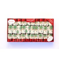 Robin Reed English Holiday Christmas Crackers, Pack of 8 - Spode, 10 Inch