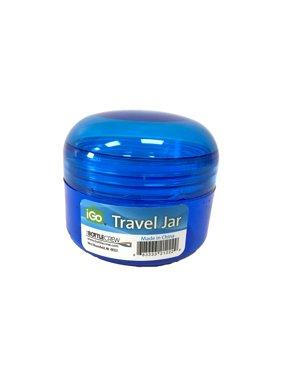 (5 Pack) iGo 2oz Travel Jar Storage Container