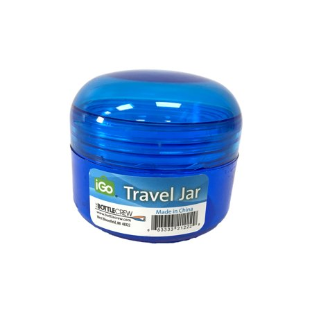 (5 Pack) iGo 2oz Travel Jar Storage Container